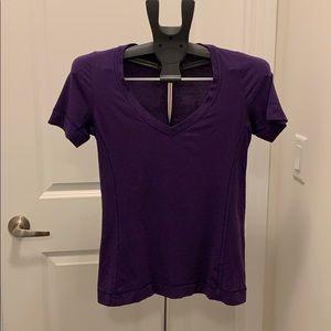 Lululemon Purple T-Shirt